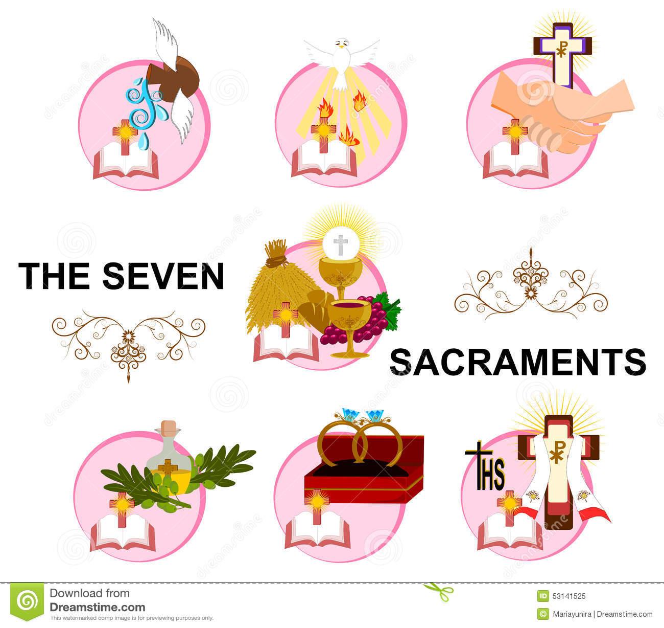 The Seven Sacraments Clipart 20 Free Cliparts