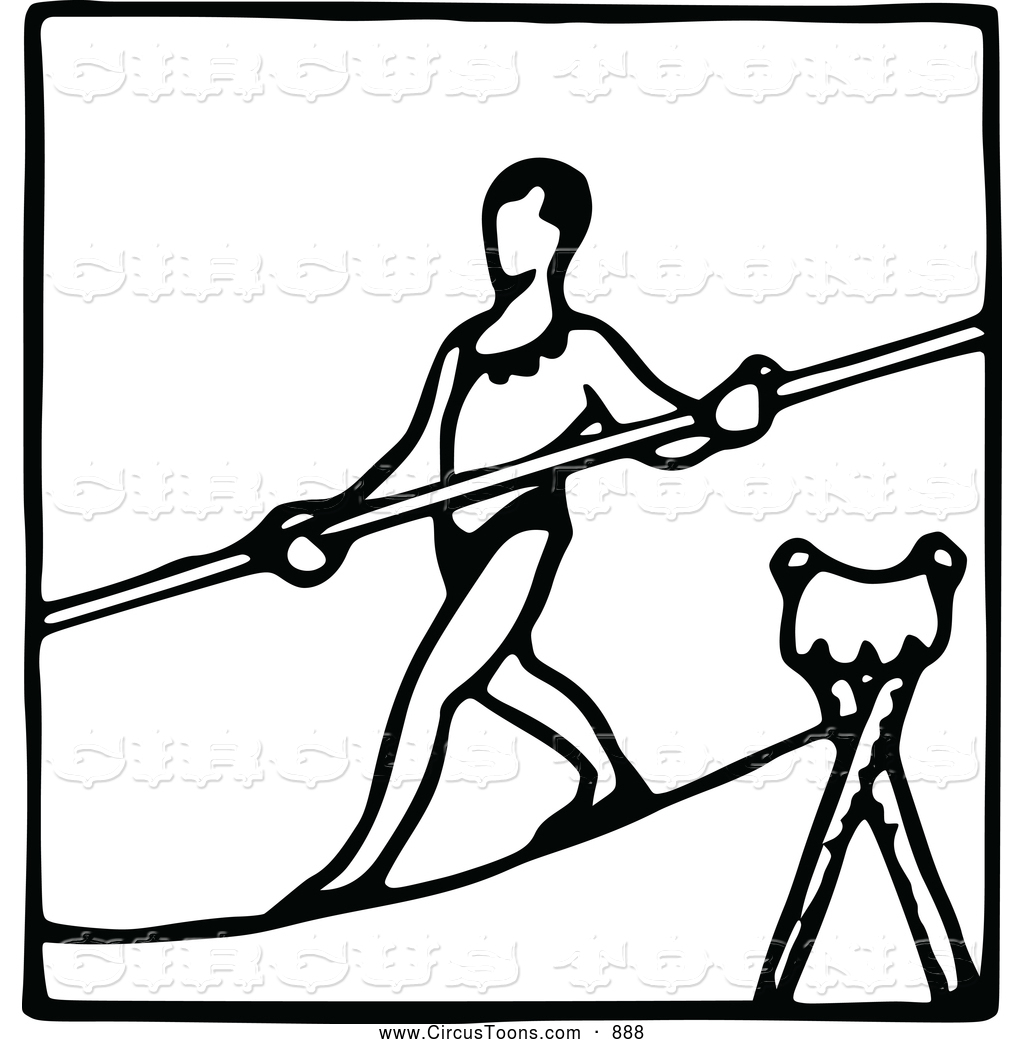 Tightropes Clipart
