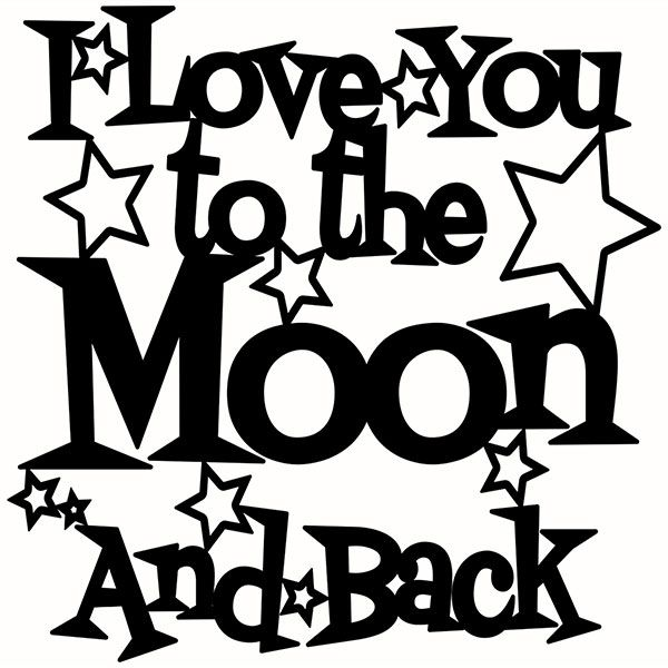 Download to the moon and back silhouette clipart 20 free Cliparts ...