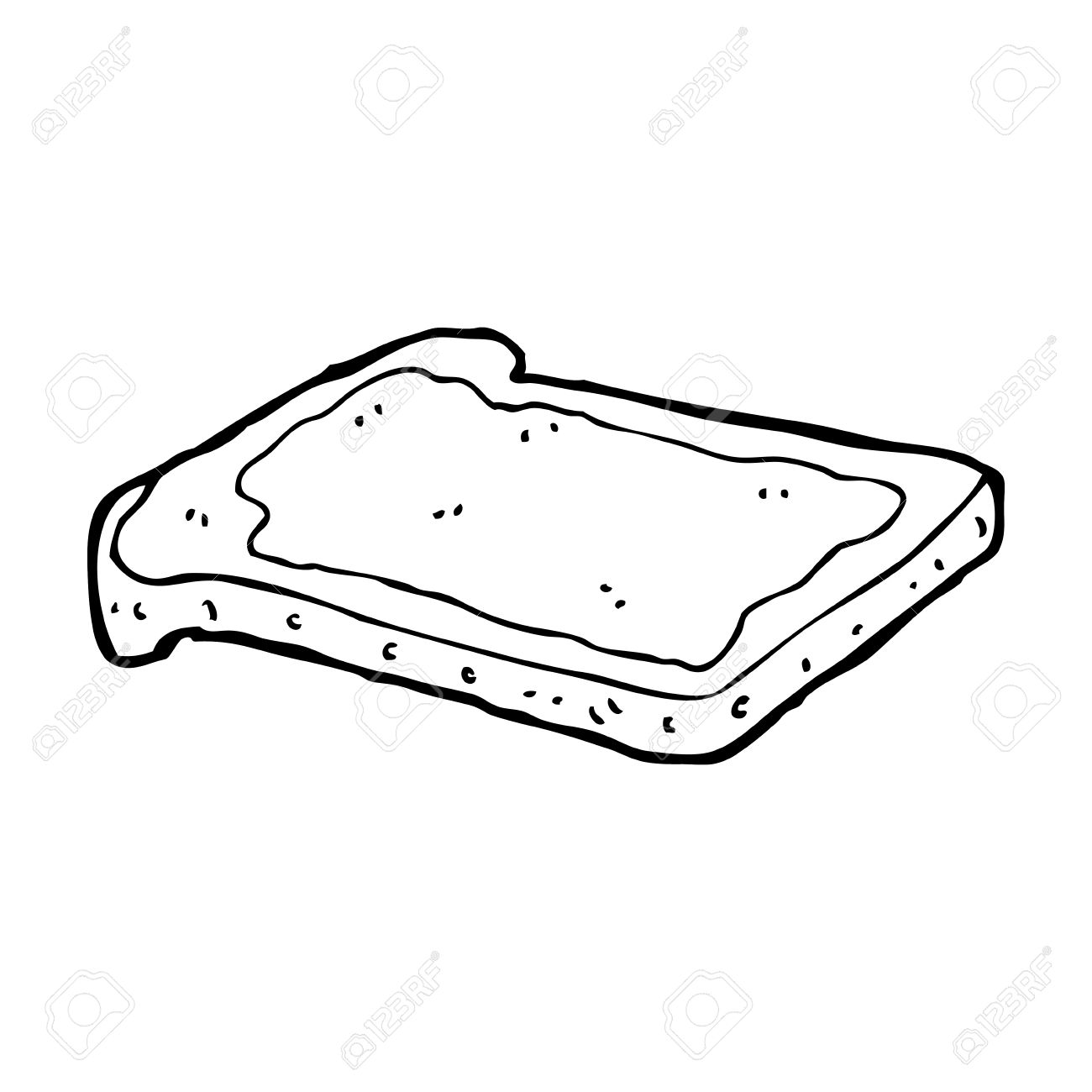 Toast Clipart Black And White 20 Free Cliparts