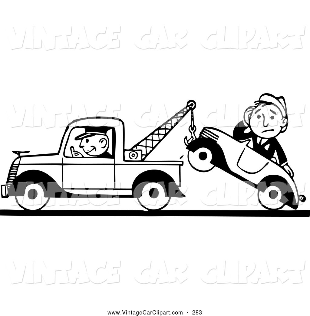 Towed Clipart