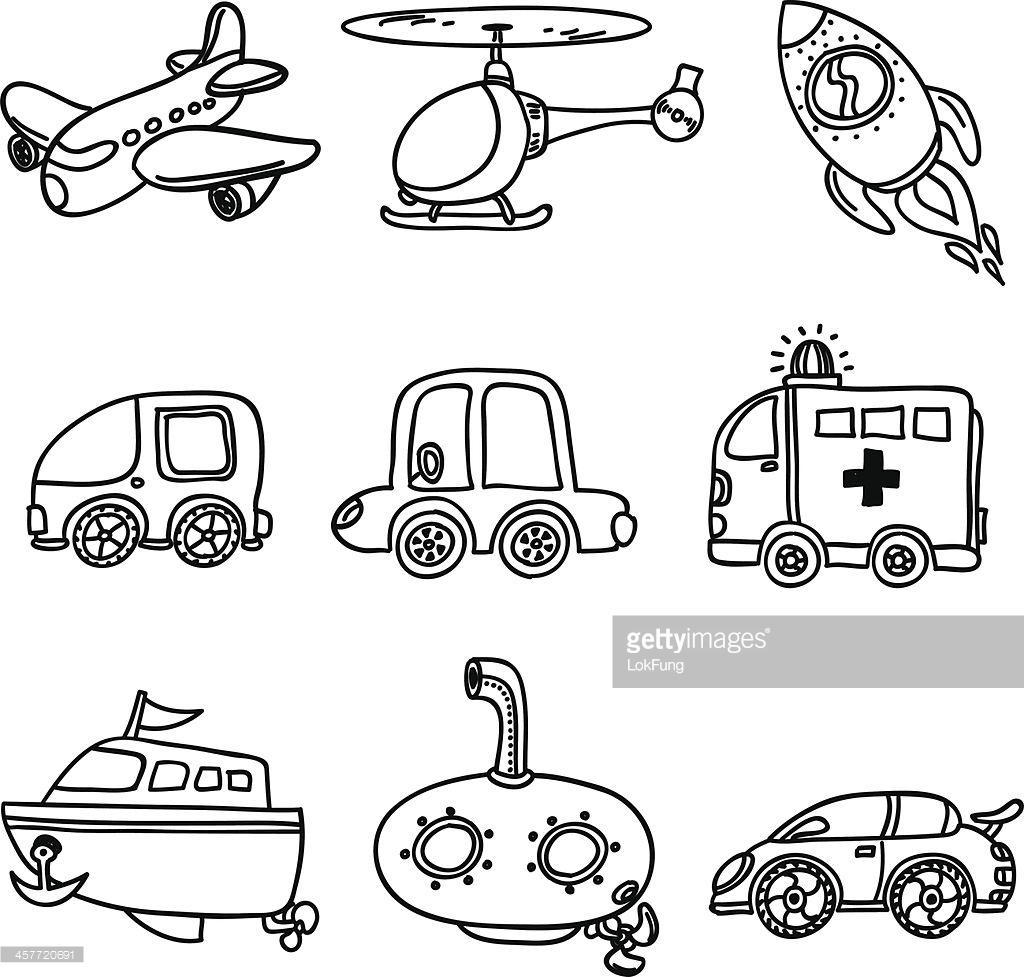 Transport Clipart Black White 10 Free Cliparts