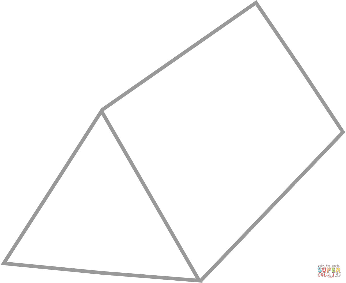 Triangular Prism Clipart