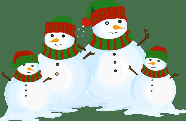 Cute Snowman Clipart Png Clipground