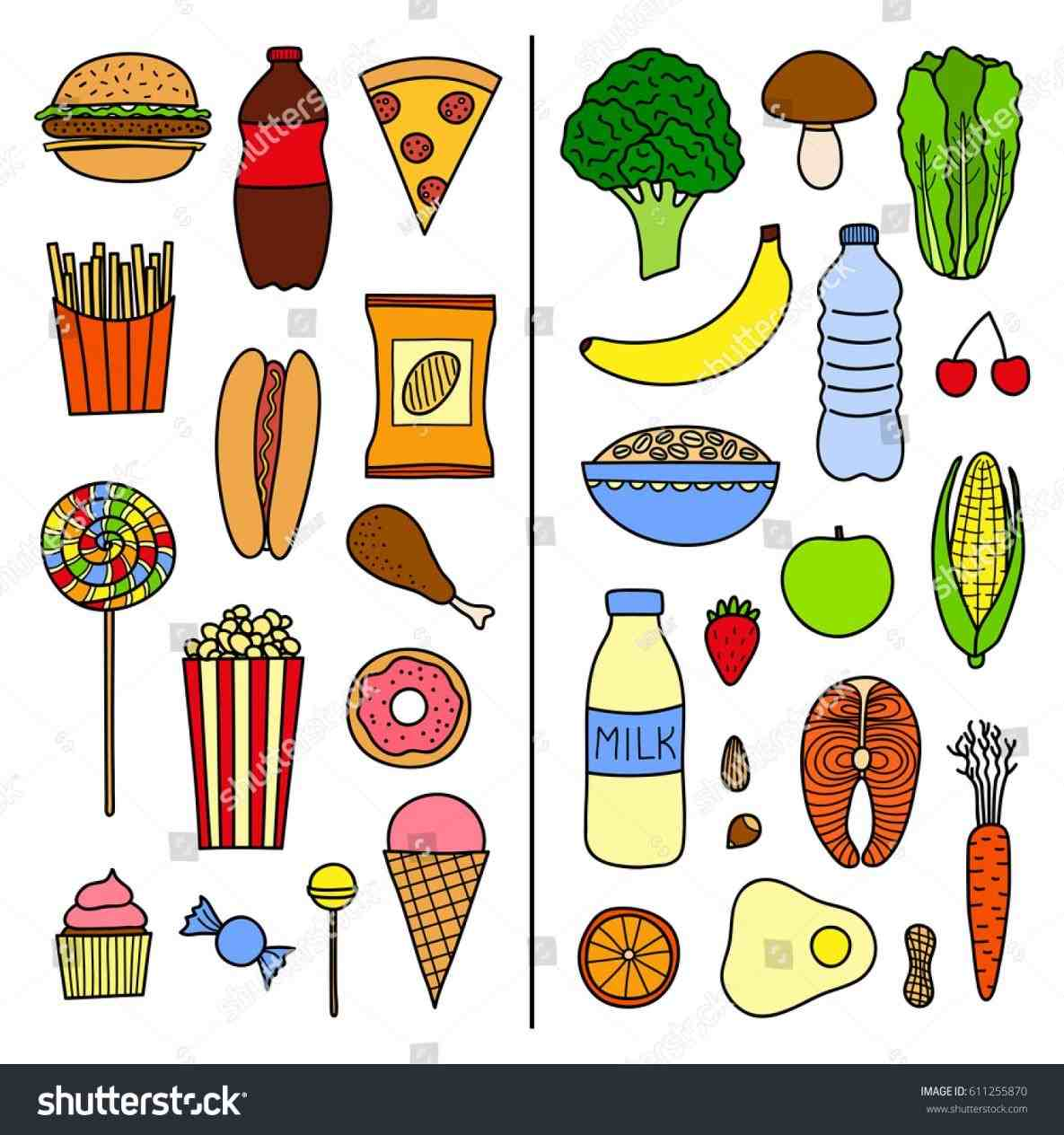 Unhealthy Foods Clipart 10 Free Cliparts