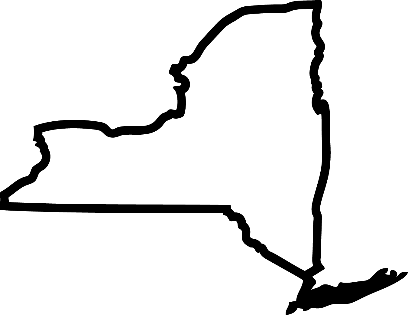 Upper New York State Clipart