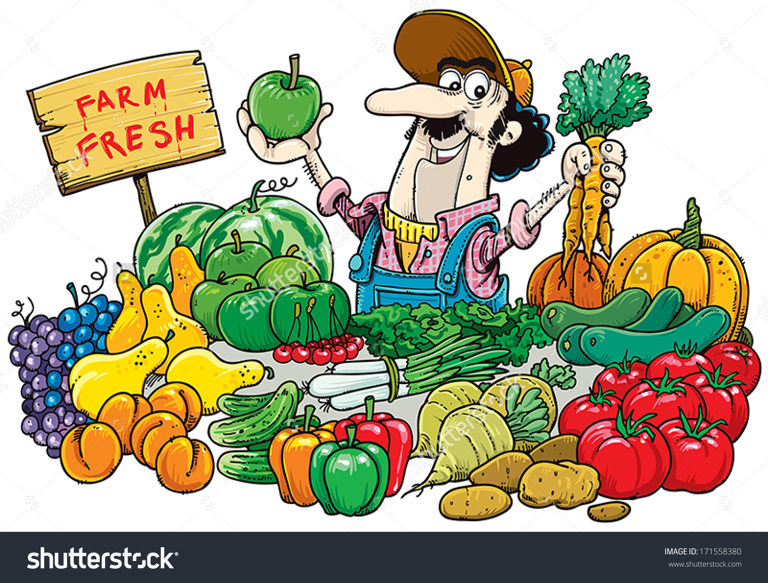 Vegetable Market Clipart 20 Free Cliparts