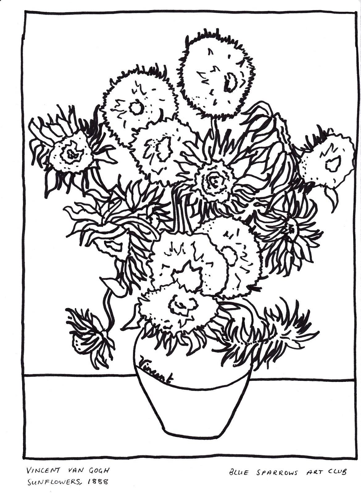 Vincent Van Gogh Clipart