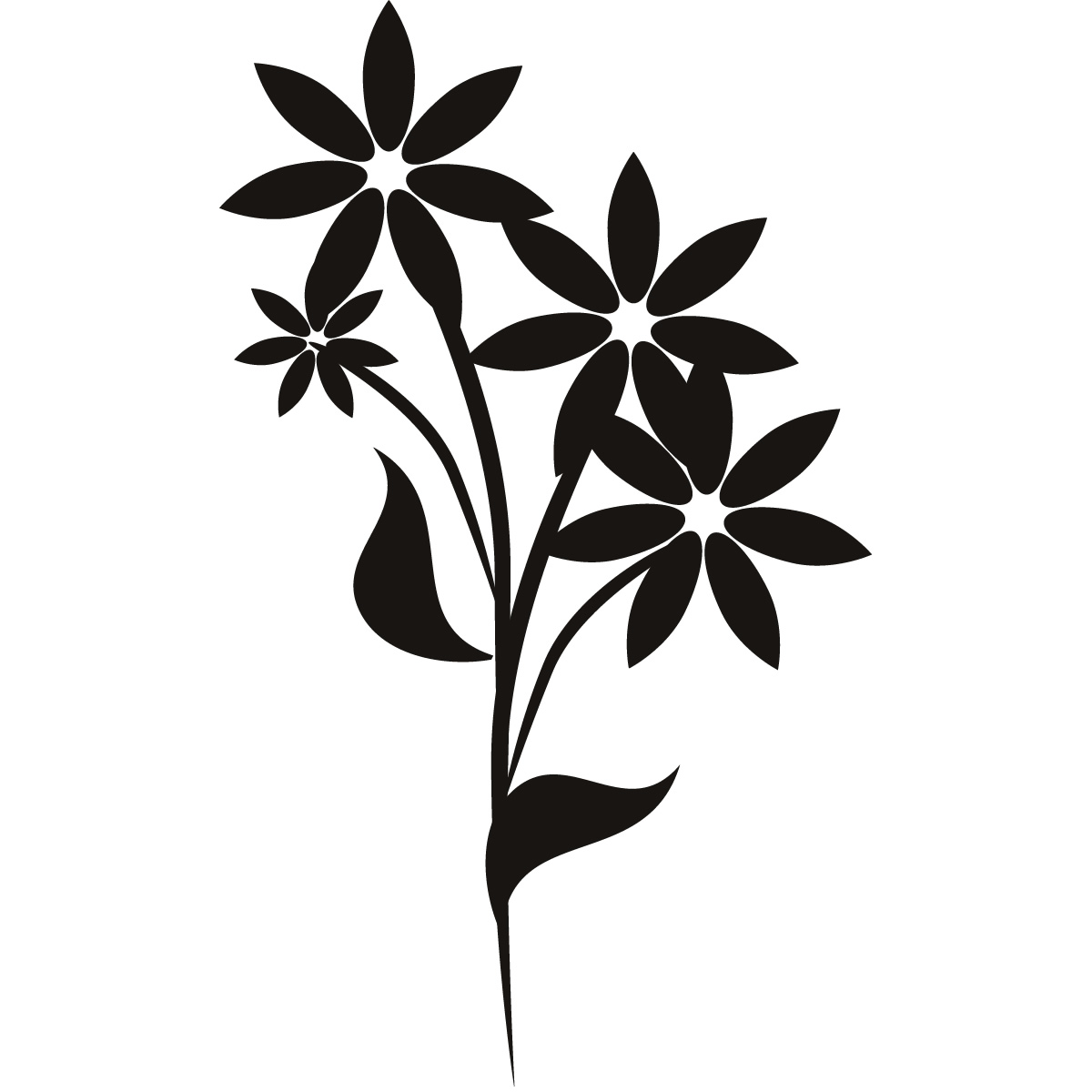 Wall Flowers Clipart