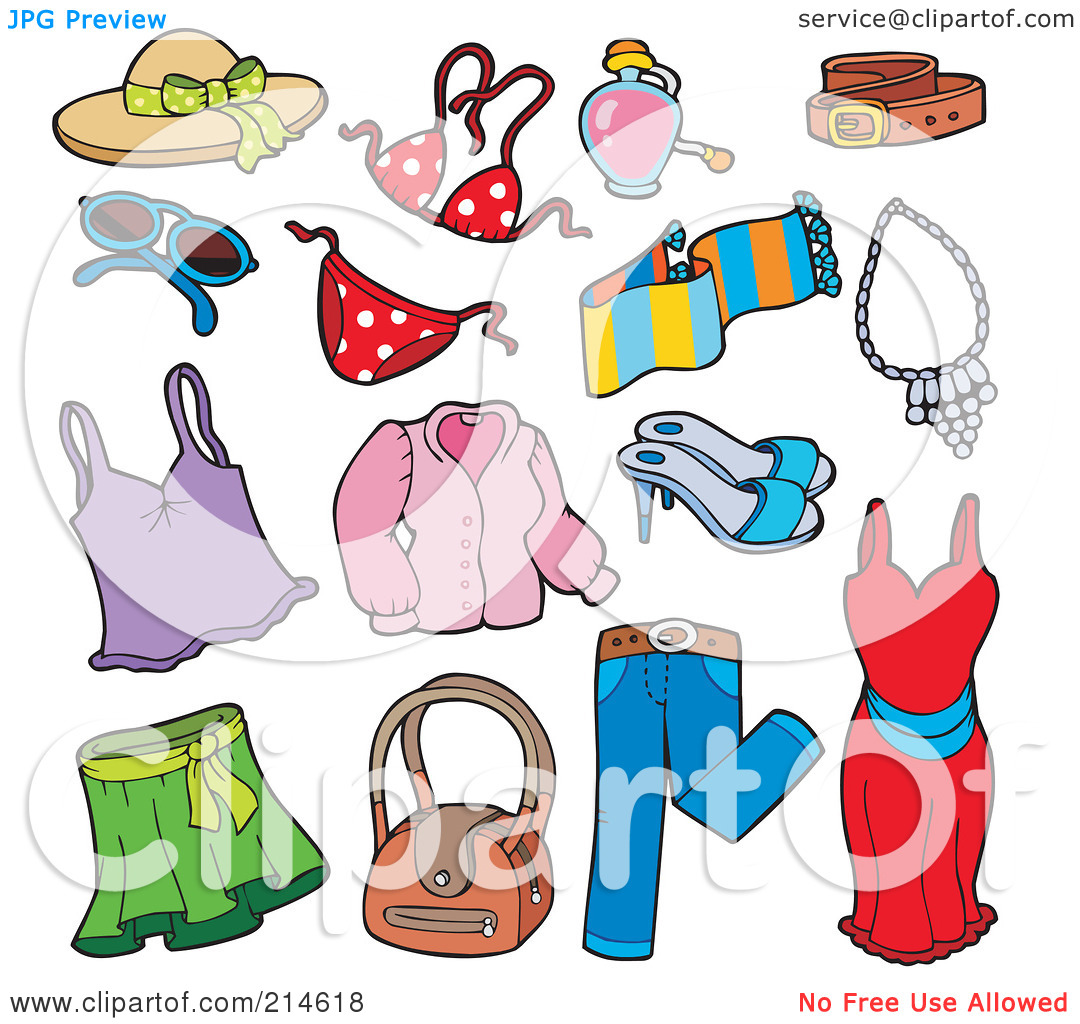 Warm Clothes Clipart