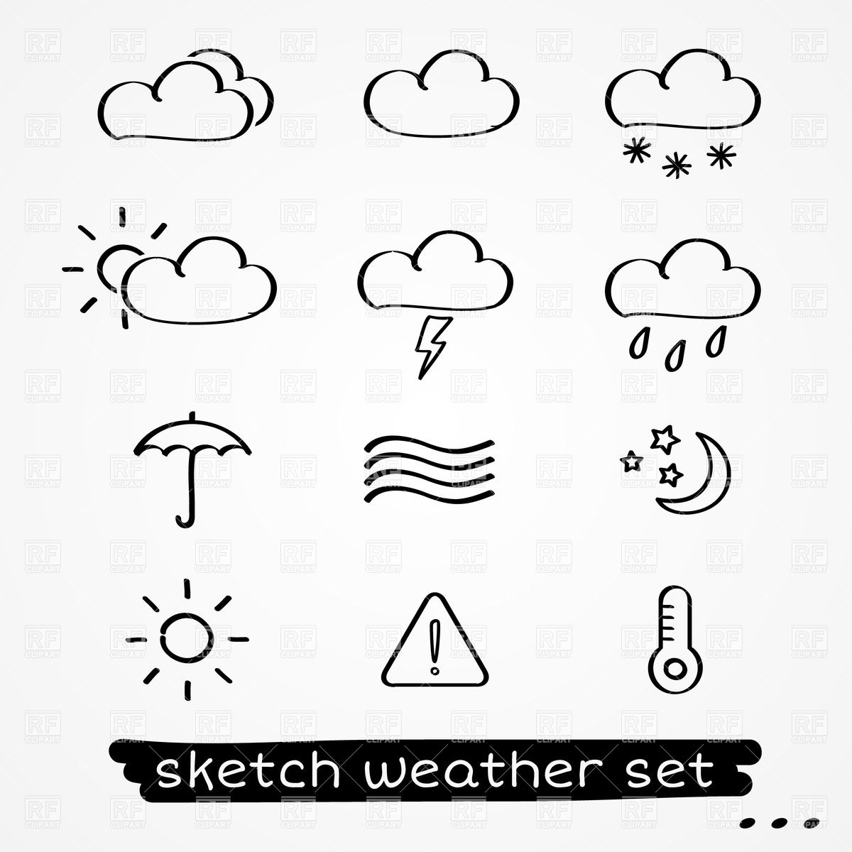 Weather Information Clipart