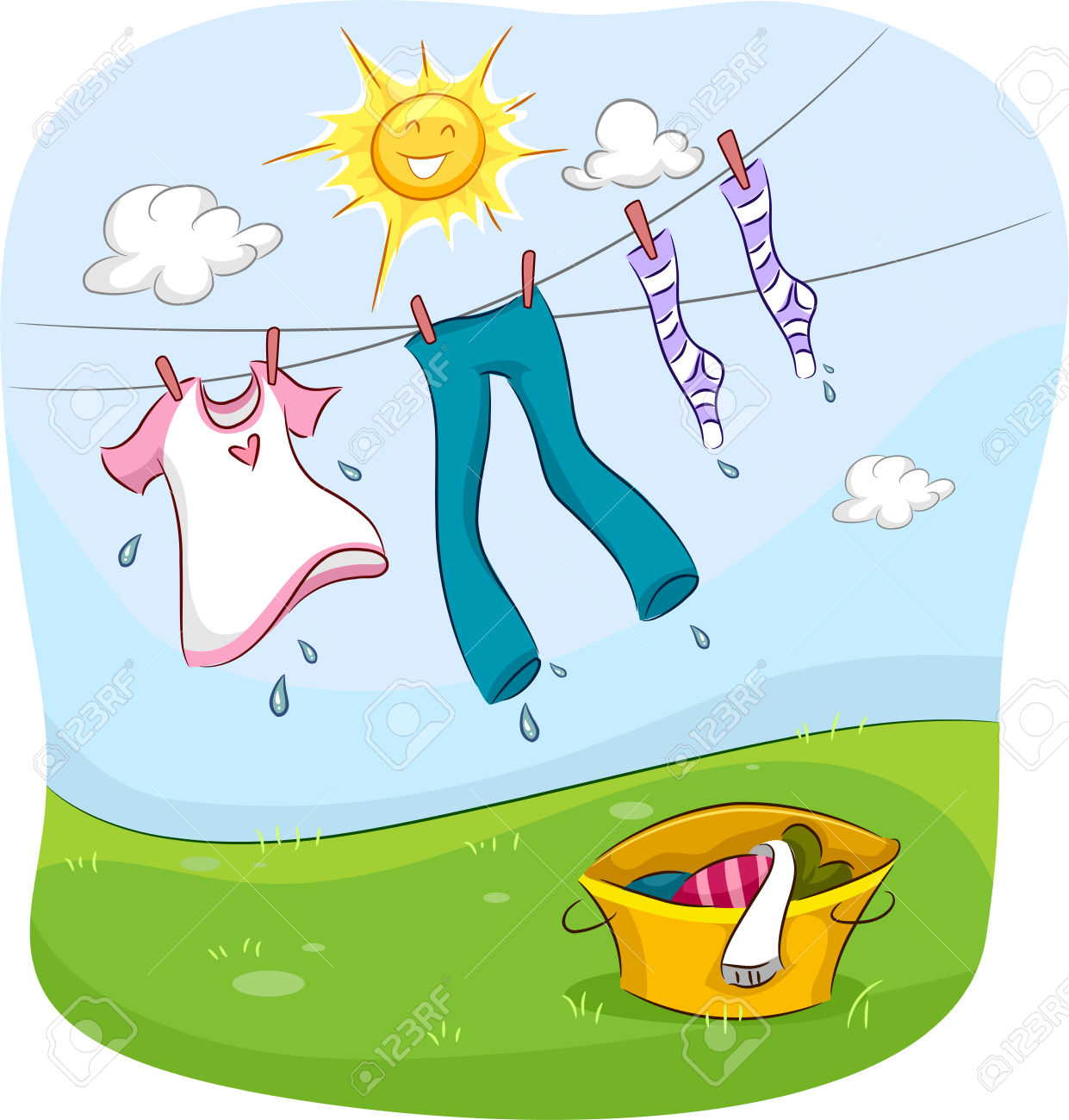 Wet Clothes Clipart 20 Free Cliparts