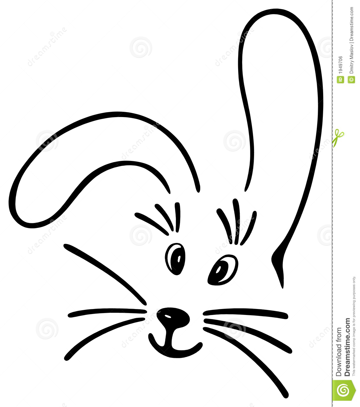 Whiskers Clipart
