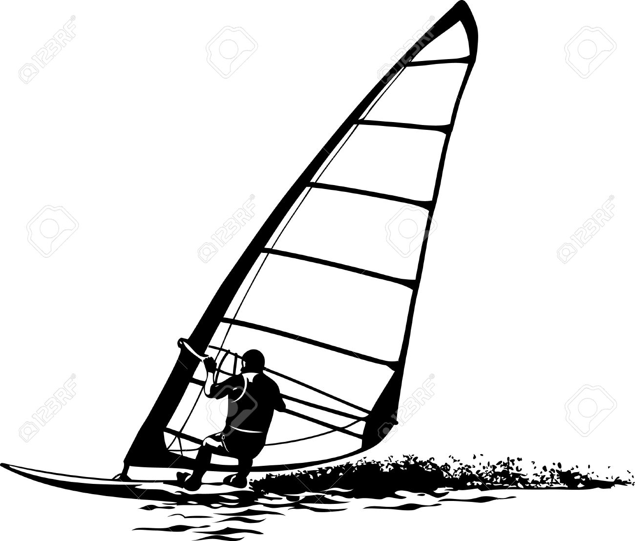 Windsurfing Clipart 20 Free Cliparts