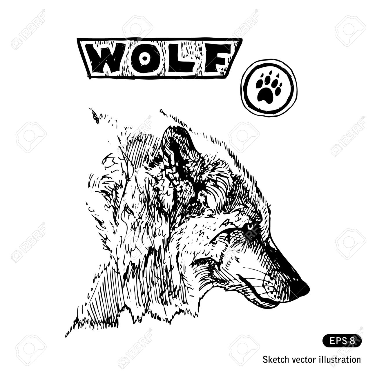 Wolf In Chimney Clipart