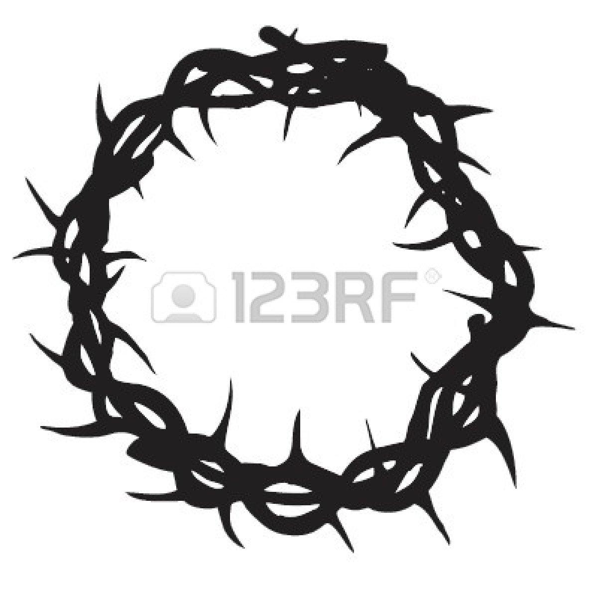 Wreath Of Thorns Clipart