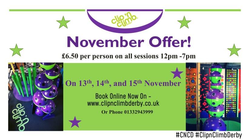November 6.50 offer