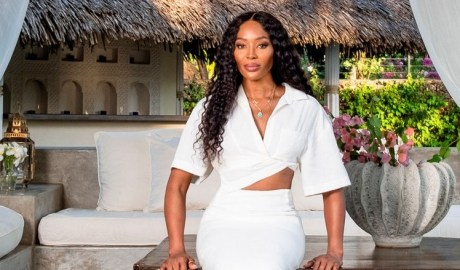 Whenever supermodel Naomi Campbell needs to unplug, she heads to her luxurious, airy villa in Malindi, Kenya
