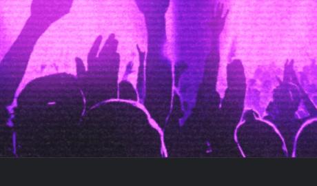 Fans at a music concert