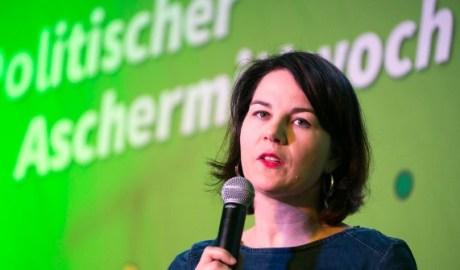 Annalena Baerbock, co-leader of Alliance 90/The Greens,