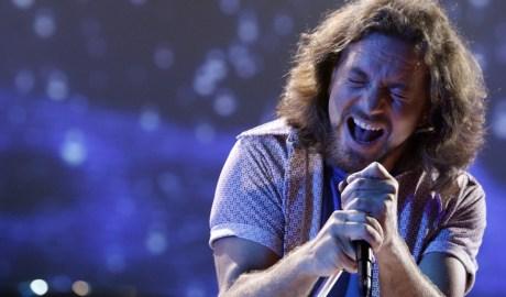 Pearl Jam performs on Saturday July 12, 2008 in Los Angeles. Matt Sayles/AP Images