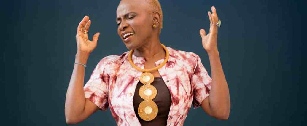 'Music is like a language; it's such a powerful, transformative thing' ... Angélique Kidjo. Photograph: Fabrice Mabillot