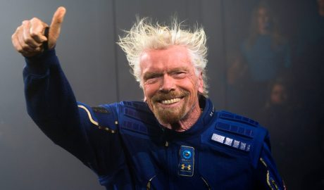 Virgin Galactic founder Richard Branson could fly to space just a bit earlier than Blue Origin and SpaceX's founders.