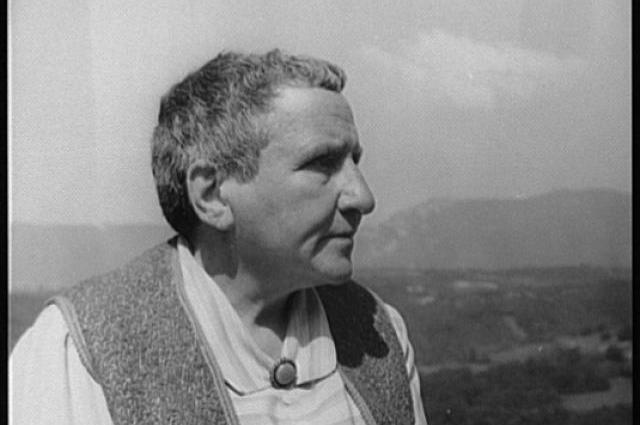 Gertrude Stein, 1934. Photographer: Carl Van Vechten.