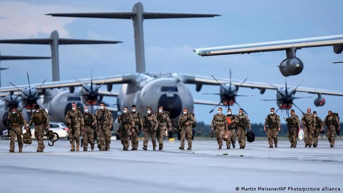 After 20 years of Afghanistan deployments, the last German troops came home on August 27