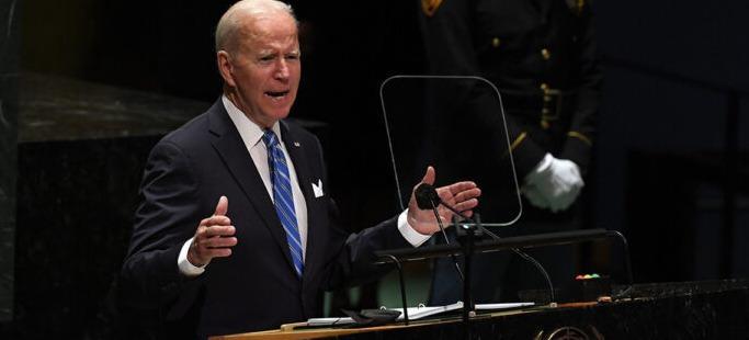 US President Joe Biden makes his first appearance at UNGA 2021