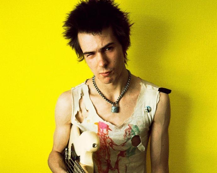 Sid Vicious of the Sex Pistols in 1977.Credit...Dennis Morris