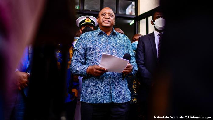 Kenya's President Kenyatta is known for his war on graft, but now his family is accused of shielding money from public scrutiny