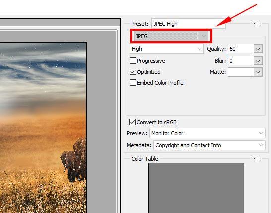 Photoshop optimized