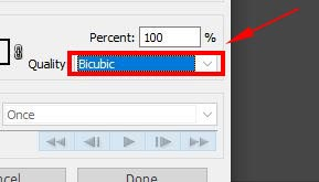 bicubic in photoshop