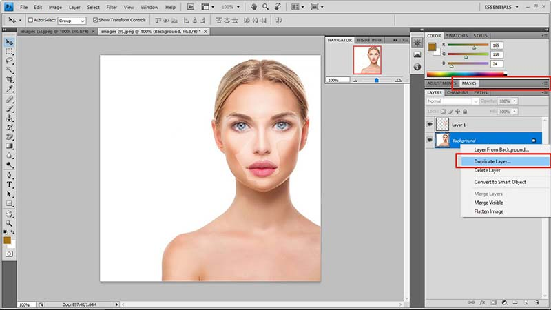 face swap in photoshop tutorial 6