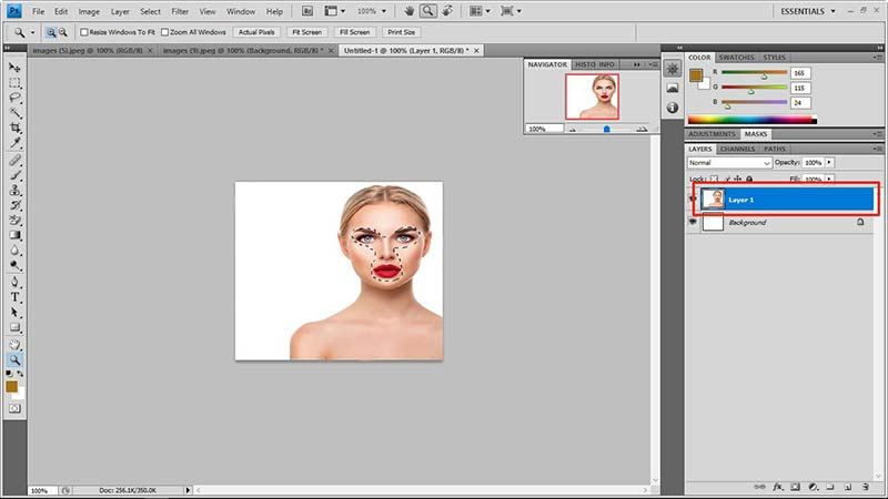 face swap in photoshop tutorial 7