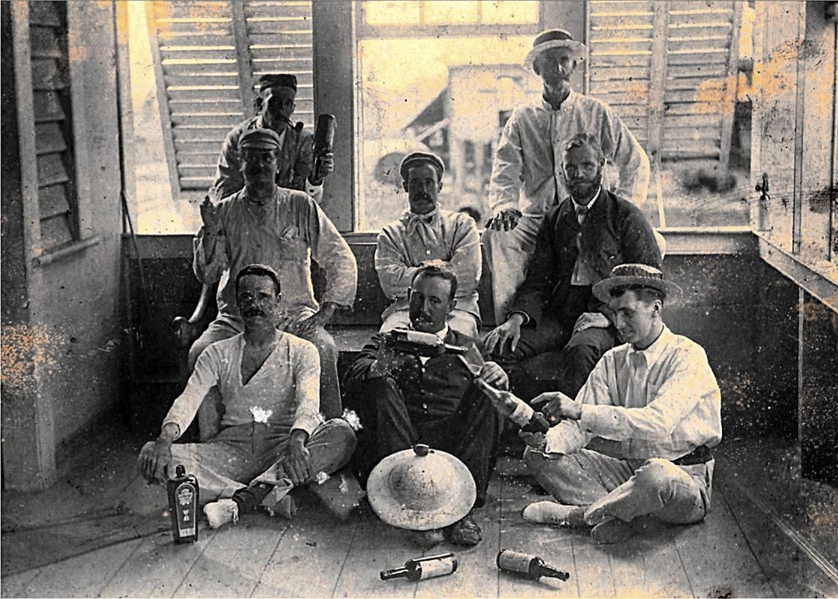 Overseers, British Guiana, 1897. Courtesy of Dennis Driscoll. http://www.cooliewoman.com