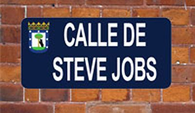 calle-steve-jobs-madrid street