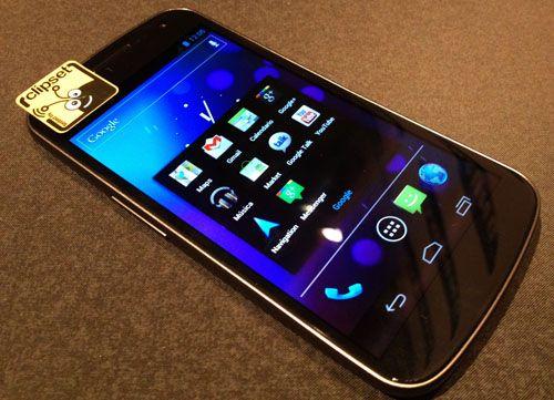 galaxy nexus samsung google android 4.0 vodafone