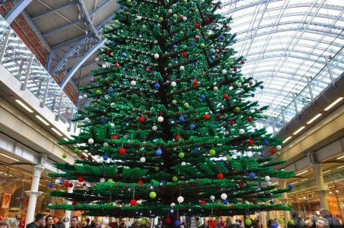 arbol navidad lego gigante