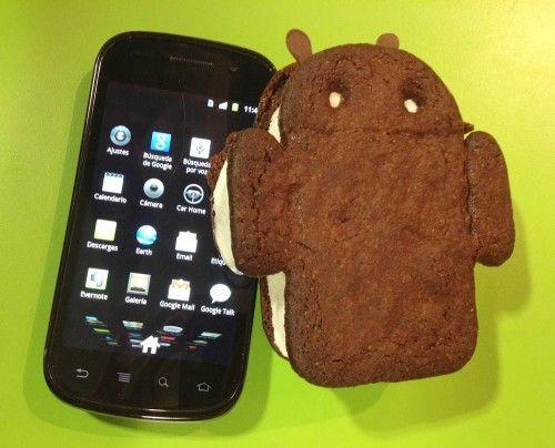 android 4.0 ICS ice cream sandwich 1