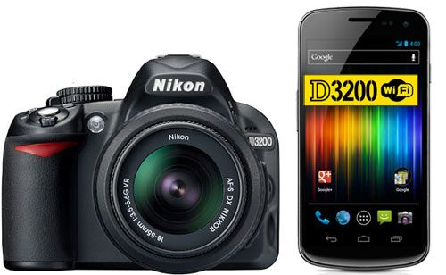 Nikon-D3200-wifi-android