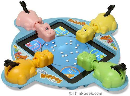 tragabolas, ipad, hippo