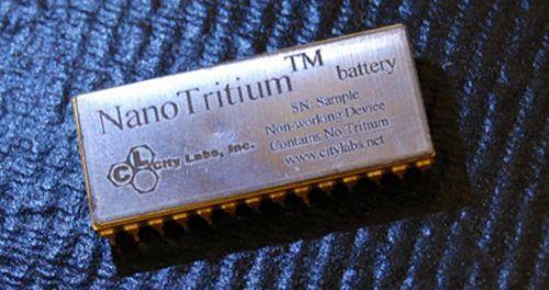 Bateria NanoTritio