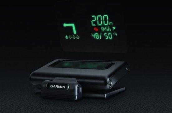 Garmin HUD clipset
