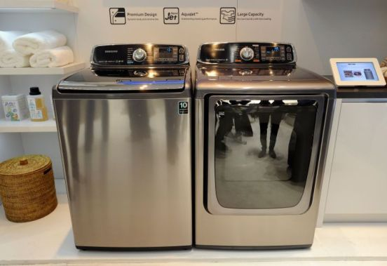 Lavadora y secadora con conexión Internet de Samsung