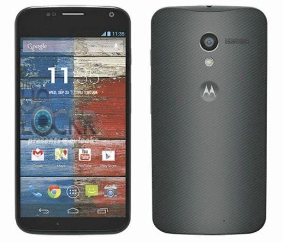 Motorola Moto X phone Google clipset
