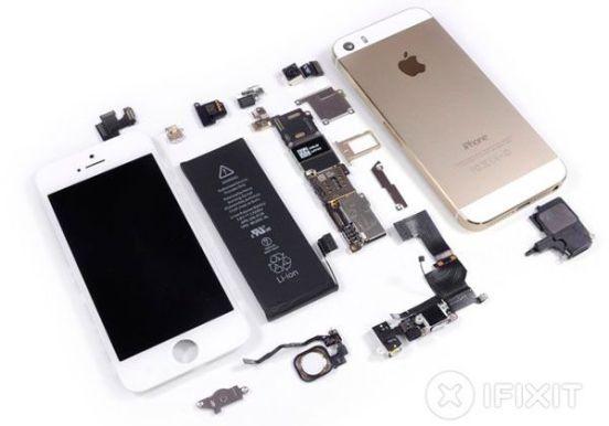 iphone-5s-gold-complete-teardown-640x448