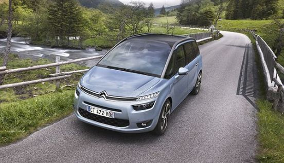Grand C4 Picasso frontal clipset
