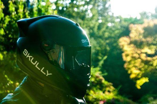 Skully P-1 casco inteligente con HUD clipset